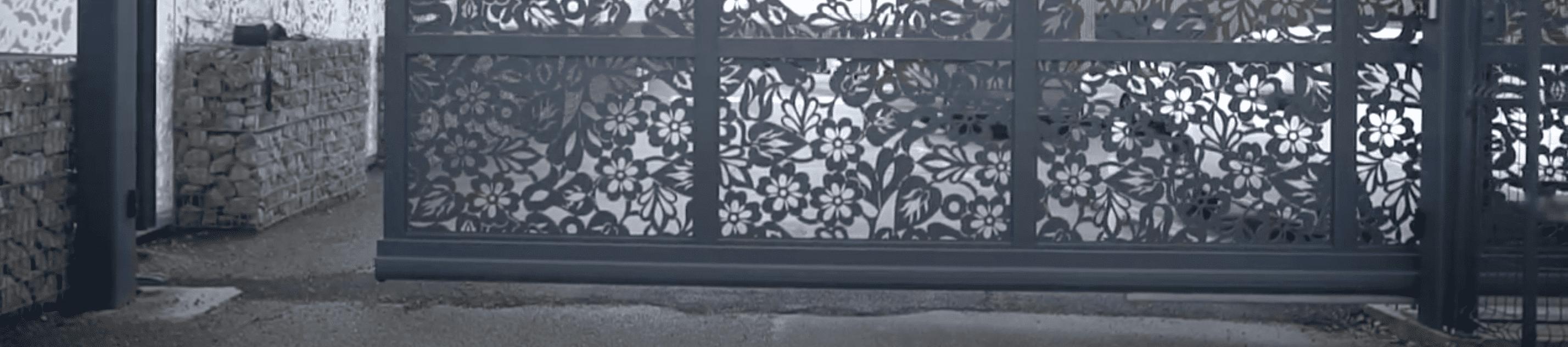moteur autoportrait portail coulissant